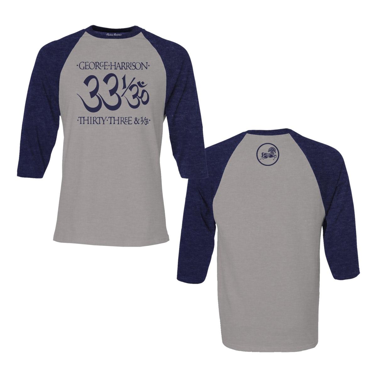 George Harrison Unisex T-Shirt Live Portrait Grey