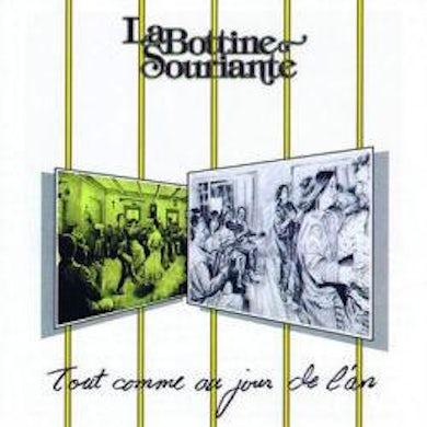 La Bottine Souriante / Tout comme au jour de l'an - CD