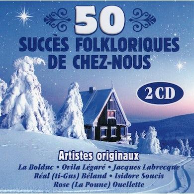Artistes Varies / 50 Succes Folklorisques De Chez-Nous - 2CD
