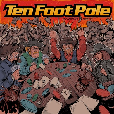Ten Foot Pole / Escalating Quickly - LP (Vinyl)