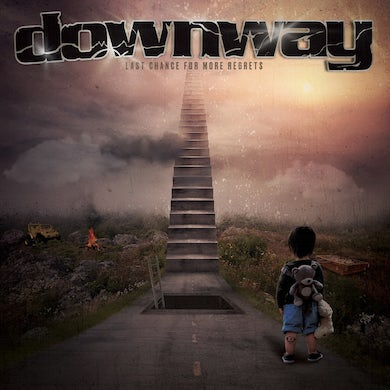 Downway / Last Chance for More Regrets - LP (Red) (Vinyl)