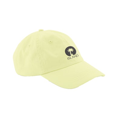 Island Records YELLOW ISLAND LOGO CAP