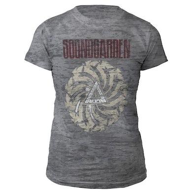 Soundgarden Women's Badmotorfinger Burnout Tee