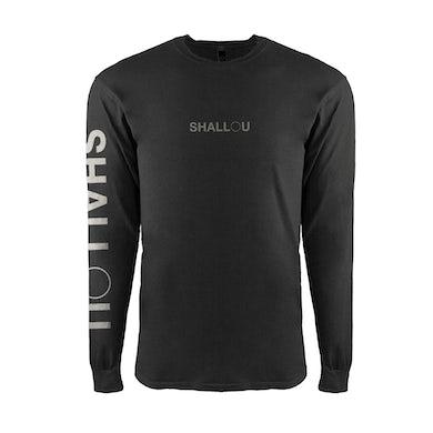 Shallou Logo Black Longsleeve