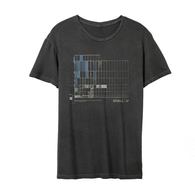 Shallou Fading Black T-shirt