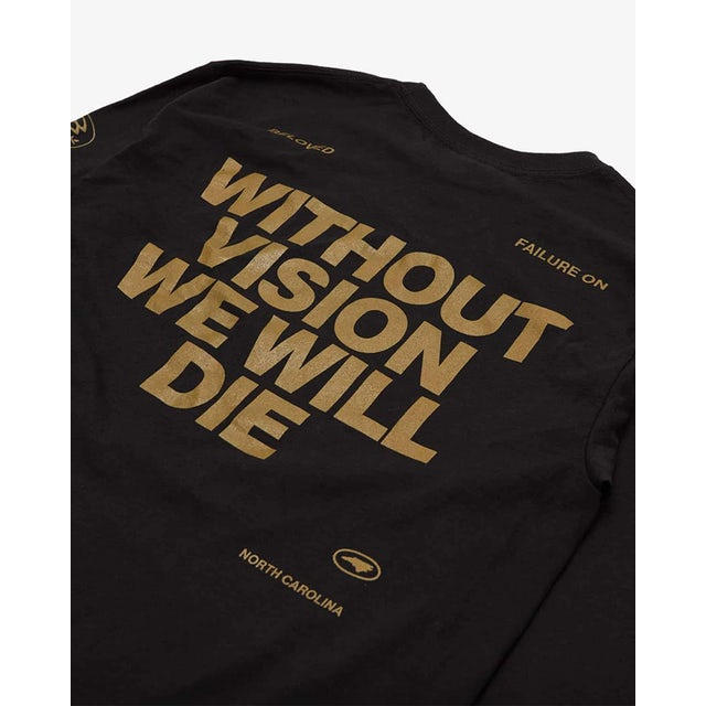 Beloved 'Vision' Long Sleeve Tee - Black