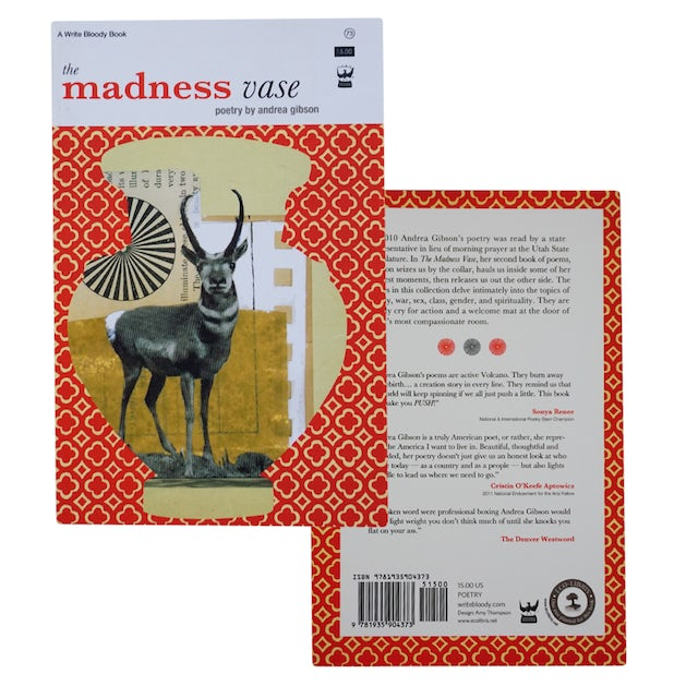 Andrea Gibson The Madness Vase Book