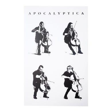 Apocalyptica Lithograph 4 Cellos Poster