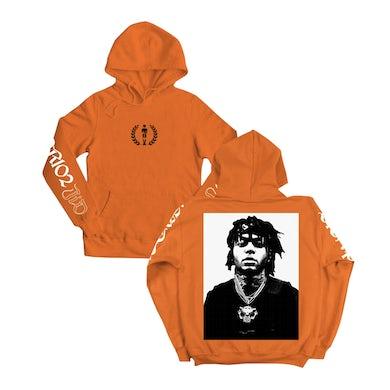 J.I.D Orange Hoodie