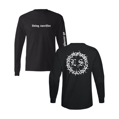 Living Sacrifice Strongholds Long Sleeve Tee **BACK IN STOCK