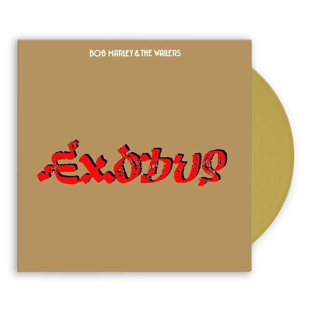 Bob Marley Exodus 40th Anniversary Edition Gold LP (Vinyl)