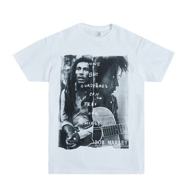 Bob Marley Free Our Mind White T-Shirt