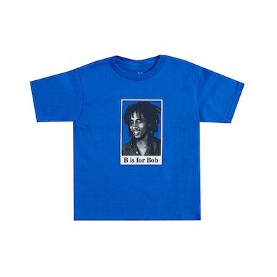 Bob Marley B is for Bob Toddler Royal Blue T-Shirt