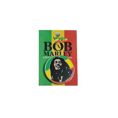 Bob Marley Rasta Circle Enamel Pin