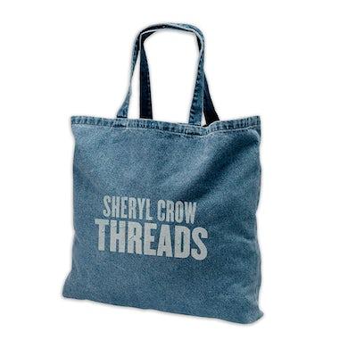 Sheryl Crow Threads Denim Tote Bag
