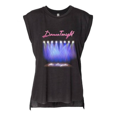 Jon Langston Ladies Dance Tonight Cutoff Tee