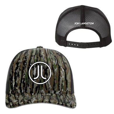 Jon Langston JL Logo Camo Hat