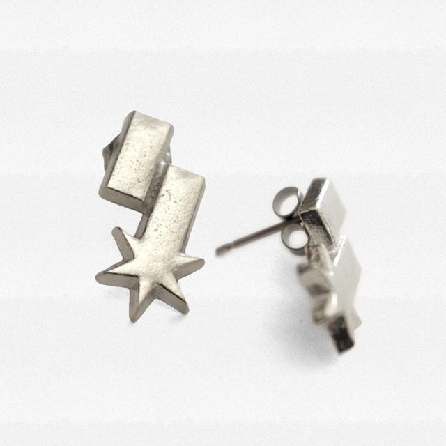Switchfoot S-Star Stud Earrings