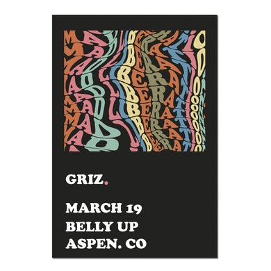 GRiZ Mad Liberation Limited 18 x 24 Poster