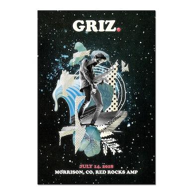 2018 Red Rocks GRiZ 18 x 24 Poster