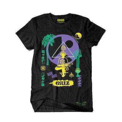 GRiZ Ride Waves Season Two Tour T-Shirt