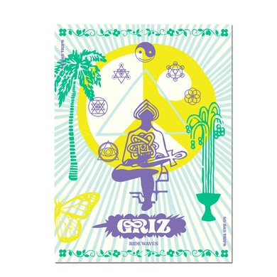 GRiZ Ride Waves Season Two Fall Tour Poster