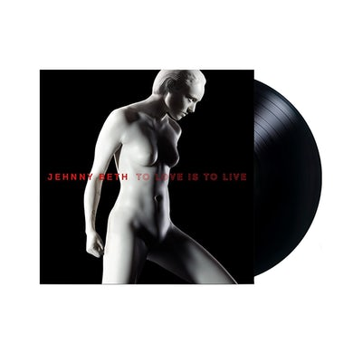 Jehnny Beth TO LOVE IS TO LIVE SIGNED VINYL