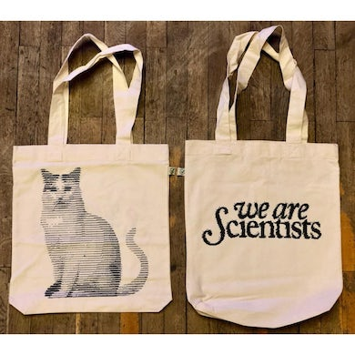 We Are Scientists Computer Cat - Tote Bag
