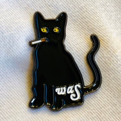 We Are Scientists Smoking Cat - Pin Badge