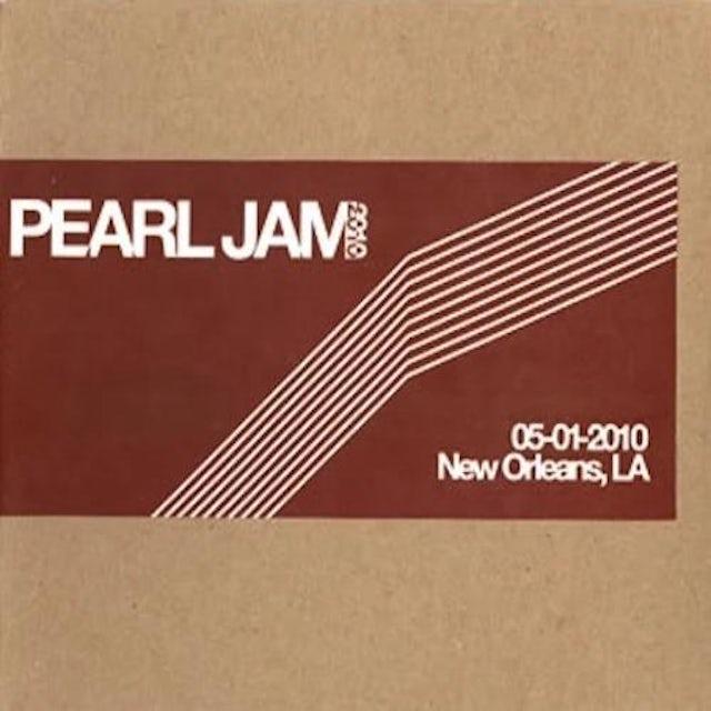 Pearl Jam NEW ORLEANS 5/1/2010 BOOTLEG CD