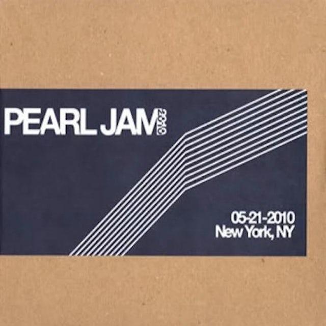 Pearl Jam NEW YORK 5/21/2010 BOOTLEG CD