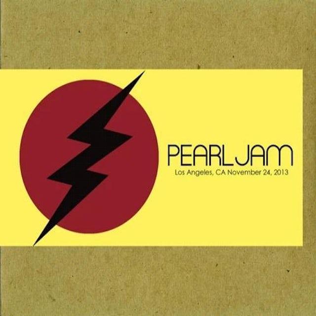 Pearl Jam LOS ANGELES 11/24/2013 BOOTLEG CD