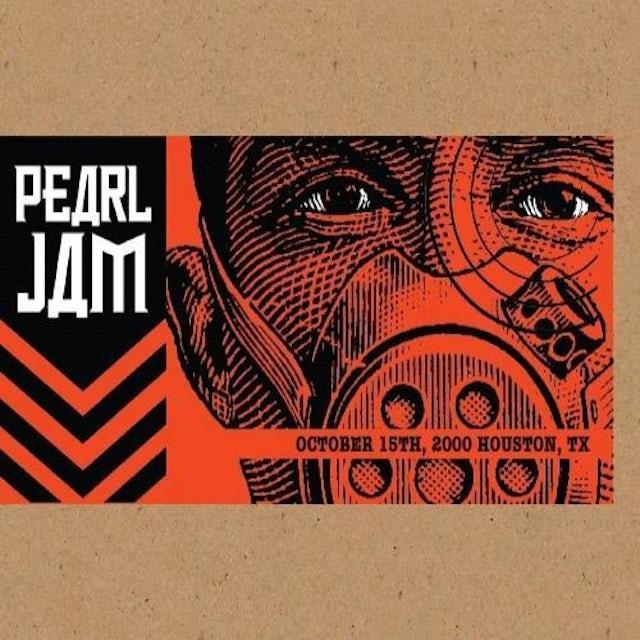 Pearl Jam HOUSTON 10/15/2000 BOOTLEG CD