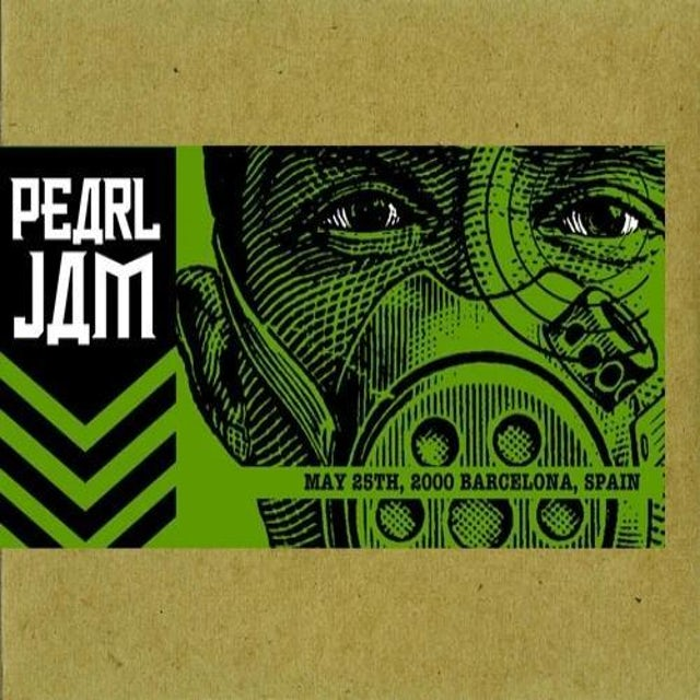 Pearl Jam BARCELONA 5/25/2000 BOOTLEG CD