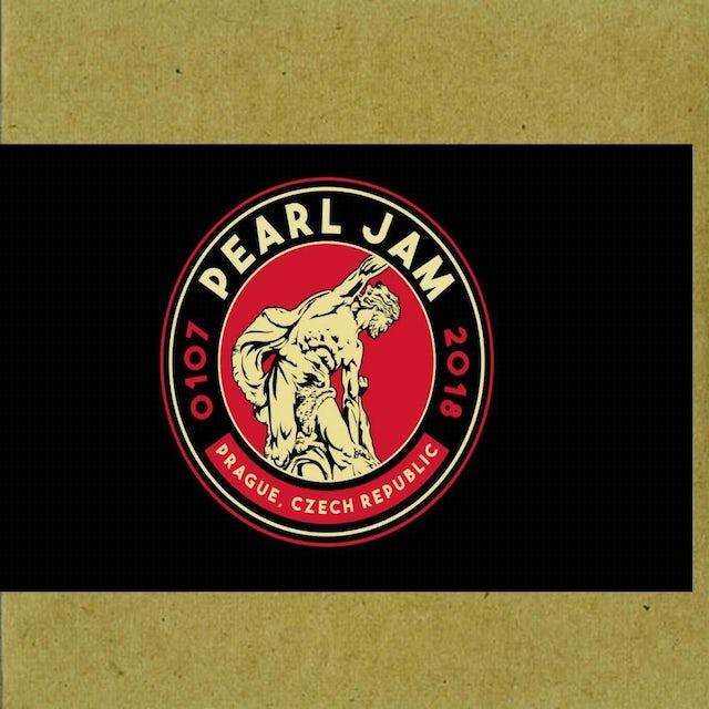Pearl Jam PRAGUE 7/1/2018 BOOTLEG CD