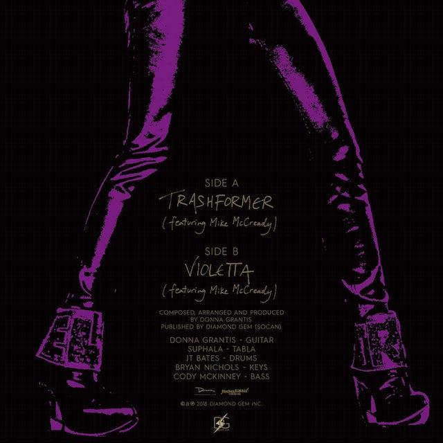 """Pearl Jam Donna Grantis TRASHFORMER  b/w VIOLETTA Feat. Mike McCready 7"""""""