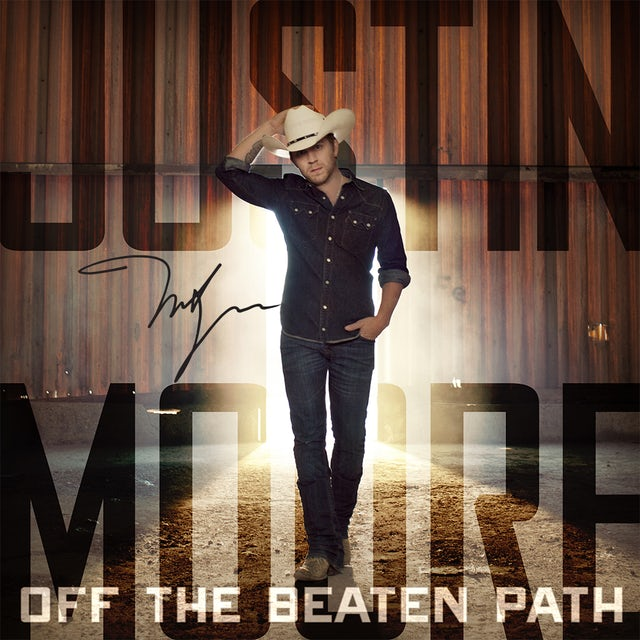 Justin Moore - Off The Beaten Path - Autographed