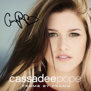 Cassadee Pope - Frame by Frame - Autographed