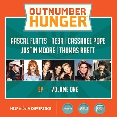 Cassadee Pope Various Artists - Outnumber Hunger, Volume 1 - EP