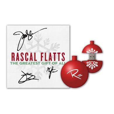 Rascal Flatts Signed Christmas Bundle