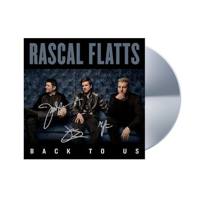 Back To Us CD - Autographed