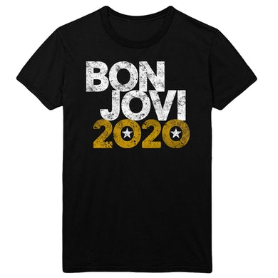 Bon Jovi 2020 Black Tee