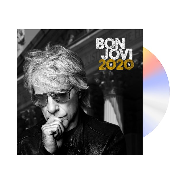 Bon Jovi 2020 Black Tee + Album