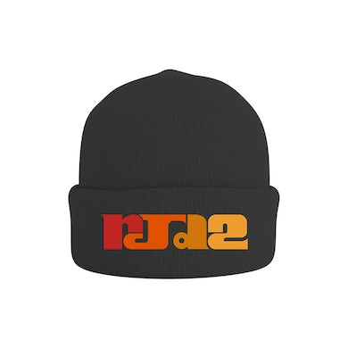Rjd2 Color Blocked Logo Beanie