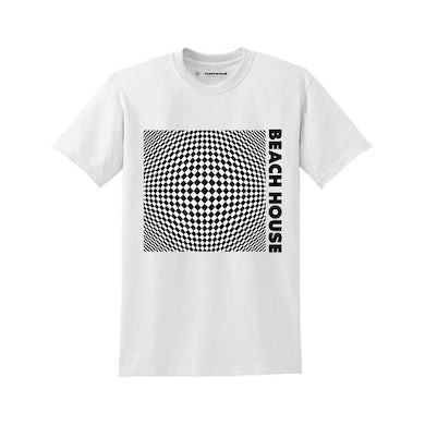 Beach House White Op-Art S/S T-shirt