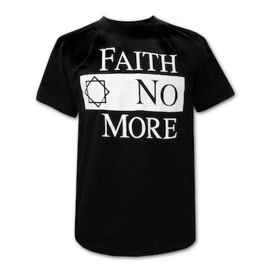 Faith No More Classic Logo Black Tee