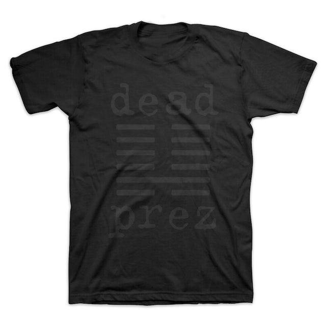 Dead Prez Black Logo T-Shirt