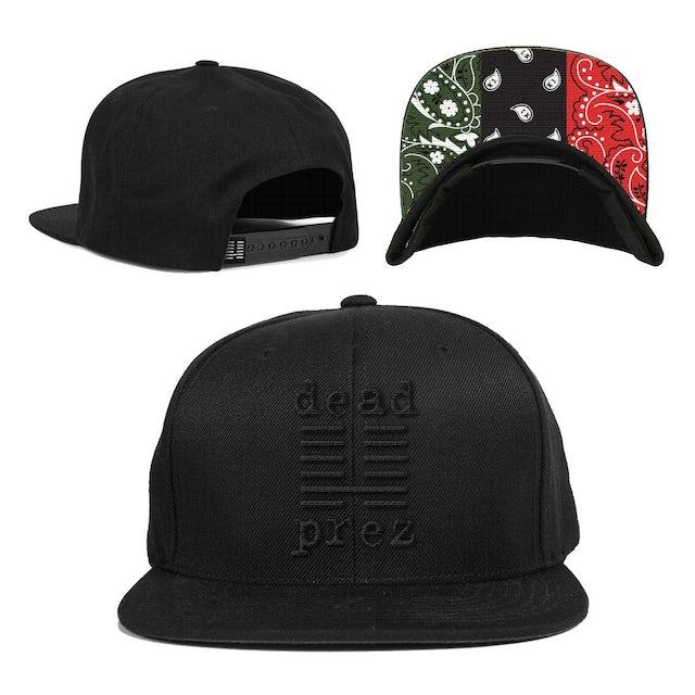 Dead Prez Logo Snapback Hat [SOLD OUT]