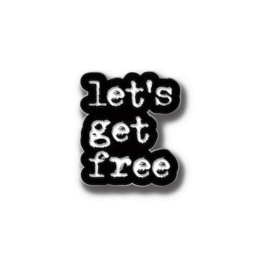 Dead Prez Let's Get Free Pin