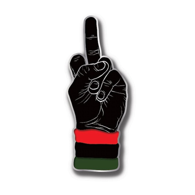 Dead Prez Middle Finger Pin